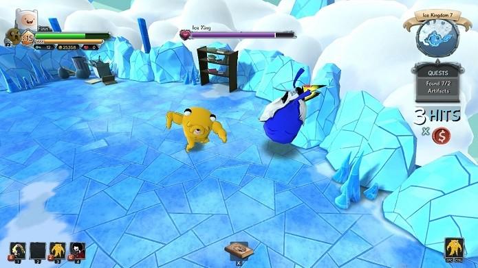 O Ice King é um dos chefes mais divertido dos jogo (Foto: Divulgação)
