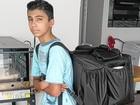 Garoto sírio arrecada mais de R$ 15 mil para ajudar pai na Alemanha