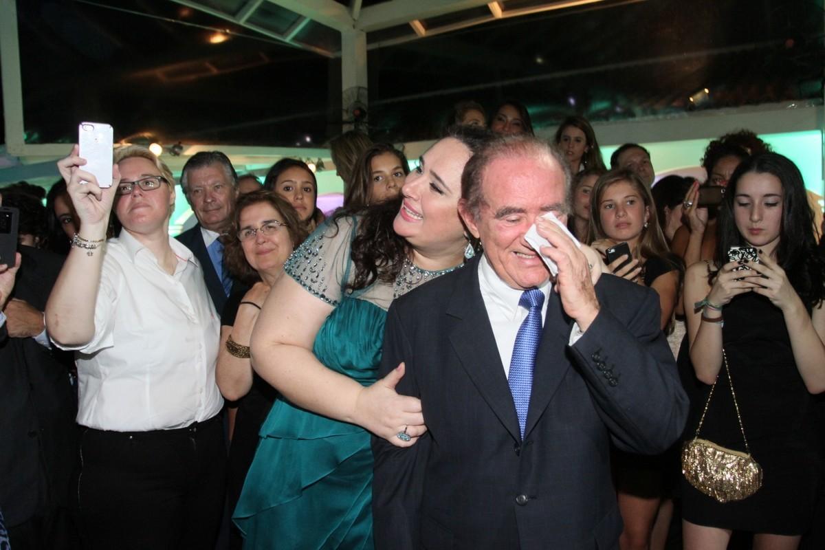 Renato Aragão e a mulher, Lilian Aragão (Foto: Roberto Valverde/Revista QUEM)