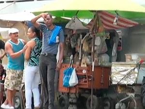 Greve de ônibus na Bahia (Foto: Egi Santana/ G1)