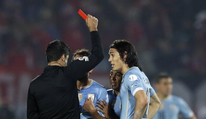Sandro Ricci Cavani Copa América (Foto: AP)