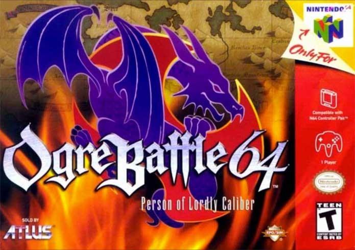 Ogre Battle 64 é um dos únicos RPGs do Nintendo 64 (Foto: Reprodução/GameDBase)