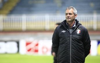 """Lisca faz desabafo sobre derrota em Bragança e avisa: """"Vão vir jogar aqui"""""""