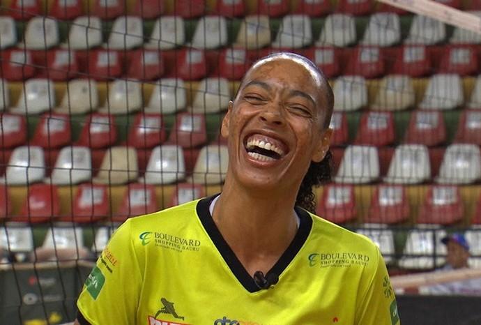 Atletas contam como lidam com as expectativas de uma estreia (Foto: Reprodução/TVTEM)