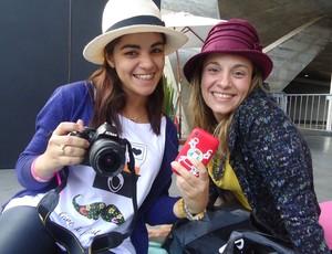 Circuito Vênus corrida Verônica Nunes e Adriana rocha (Foto: Bebel Clark / Globoesporte.com)