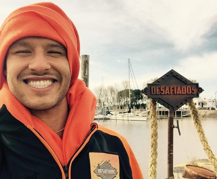 Nos bastidores do Desafiados, Nando Rodrigues revela que está solteiro e que amizade com ex continua (Foto: Arquivo Pessoal)