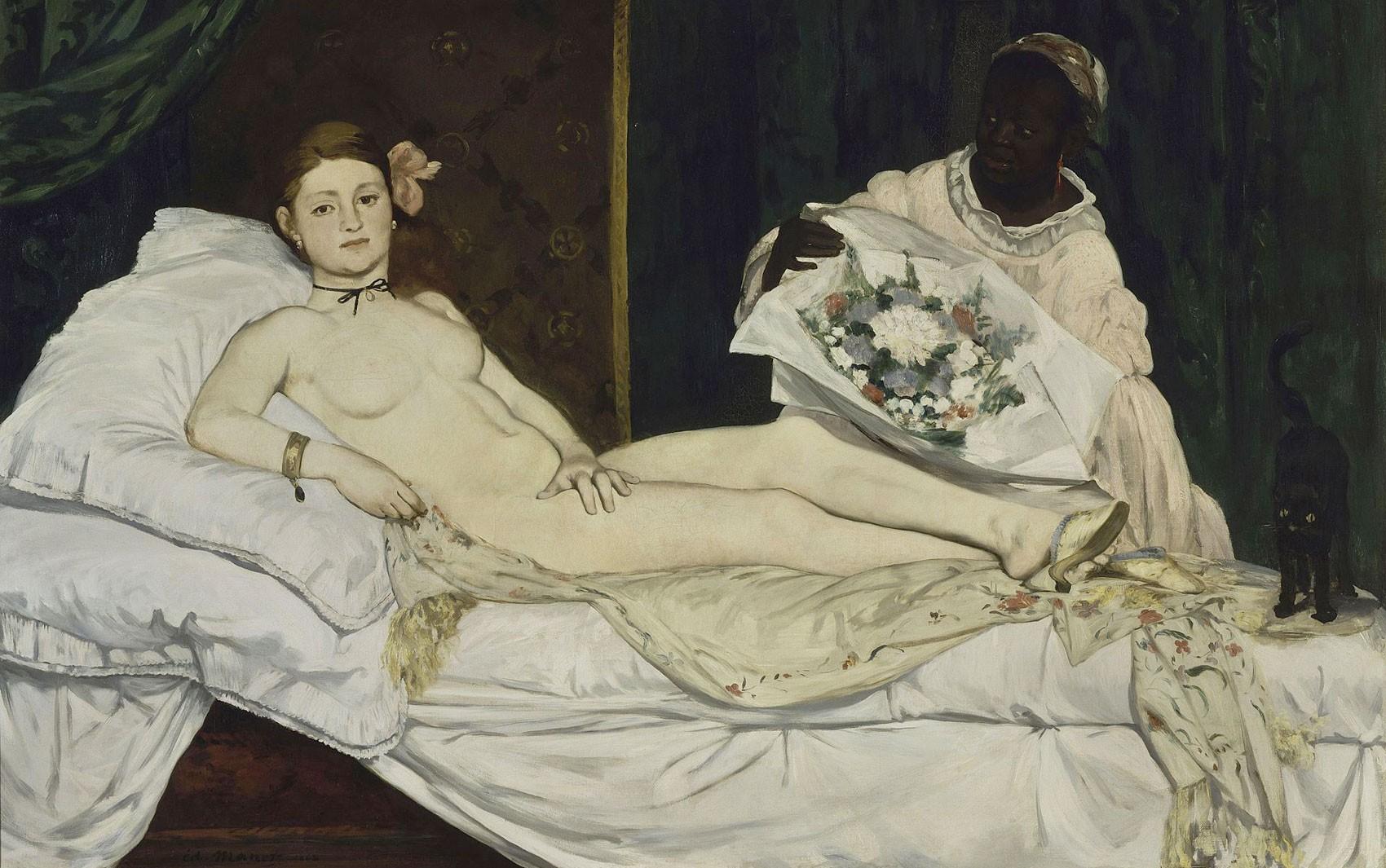 Olympia, de Edouard Manet  (Foto: Wikipedia/Public Domain)