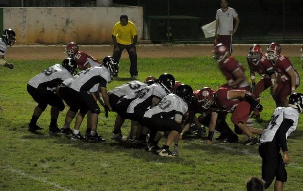 futebol americano botafogo espectros x américa bulls (Foto: Divulgação)