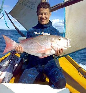 Antônio Ricardo Cavalcante Barbosa, de 40 anos, desapareceu durante pescaria (Foto: Arquivo Pessoal)
