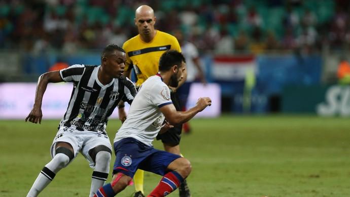 Maxi Biancucchi Bahia x Ceará Copa do Nordeste (Foto: FELIPE OLIVEIRA/AGIF/ESTADÃO CONTEÚDO)