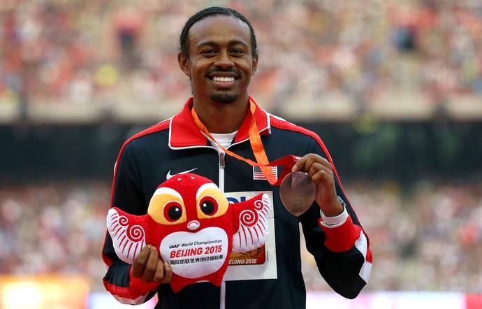 Aries Merritt bronze Mundial de Atletismo de Pequim (Foto: Alexander Hassenstein / Getty Images)