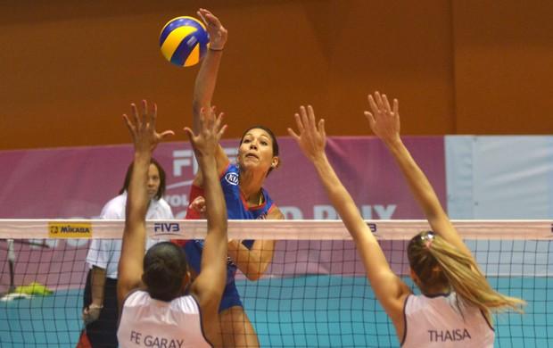 Grand Prix de Volei - Brasil x Porto Rico (Foto: FIVB)