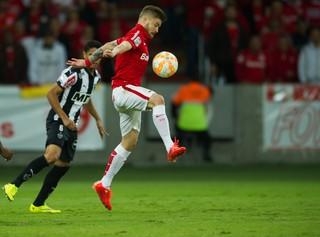 Eduardo Sasha Inter Internacional Atlético-MG Beira-Rio Libertadores (Foto: Alexandre Lops/Inter)