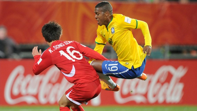 Brasil x Coreia do Norte Mundial Jajá Sub-20 (Foto: AP)