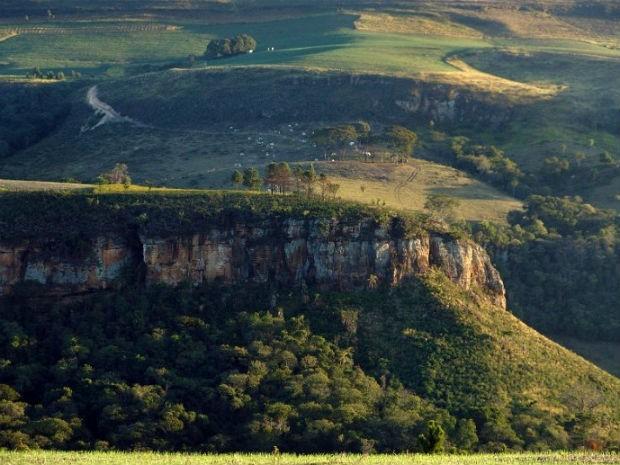 O parque tem mais de 790 hectares é uma unidade de conservação criada em 1997 (Foto: Divulgação/Prefeitura de Tibagi)