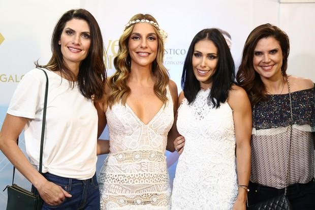 Isabella Fiorentino, Ivete Sangalo, Bella Falconi e Mariana Kupfer (Foto: Manuela Scarpa/Brazil News)