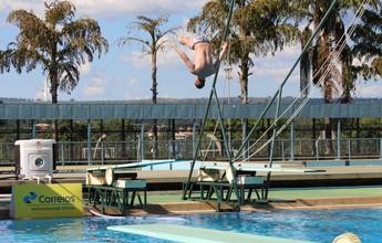 Brasília recebe intercâmbio de atletas dos saltos ornamentais