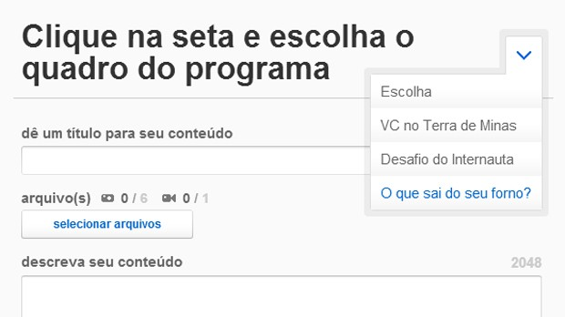 VC no Terra de Minas (Foto: Reprodução/TV Globo)