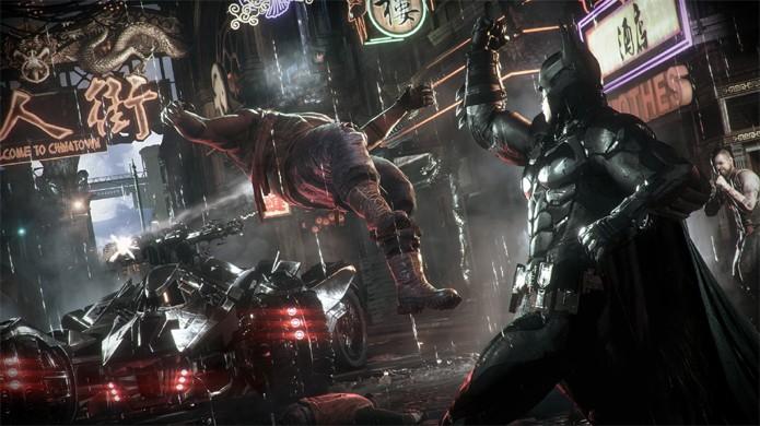 Os golpes de Batman não são problemas, mas as cenas de tortura com certeza elevaram a classificação etária de Arkham Knight (Foto: Divulgação)