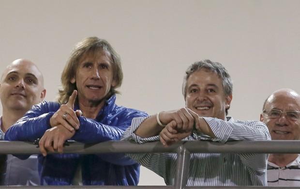 Gareca e Paulo Nobre Palmeiras e Figueirense (Foto: Getty Images)