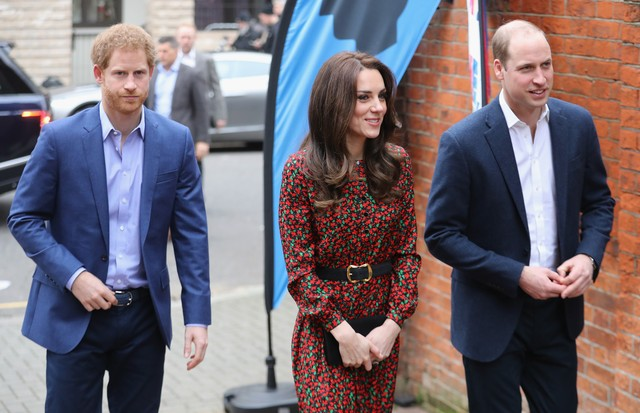 Príncipe Harry, Kate Middleton e Príncipe William (Foto: Getty Images)