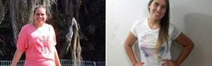 Estudante perde 25 kg em 4 meses (Arquivo pessoal/Aline Dunaiski )