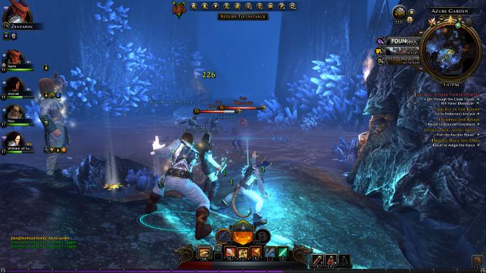 Game conta com sistema de combate bastante emocionante (Foto: Reprodução / vgfaq.com)
