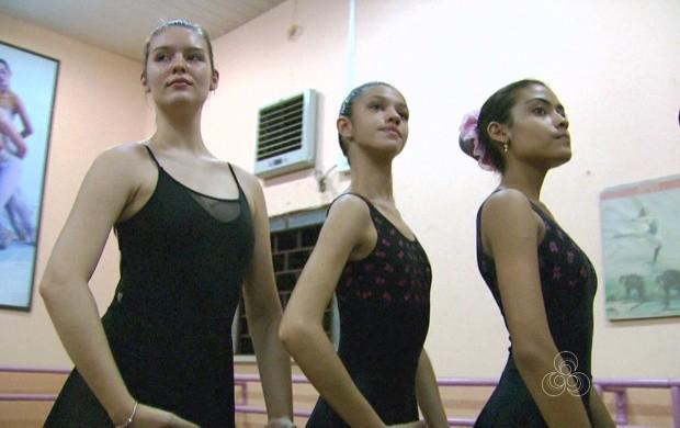 Bailarinas de Boa Vista são selecionadas para fazerem parte de espetáculo nos EUA (Foto: Roraima TV)