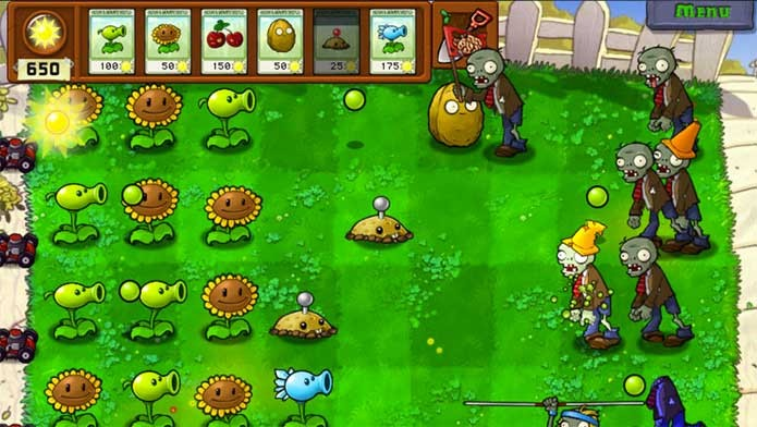 Plants vs Zombies Game of The Year Edition (Foto: Divulgação/EA)