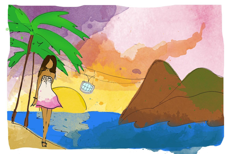 Como ser uma carioca, por Lenny Niemeyer  (Foto: Gabriela Camerotti)