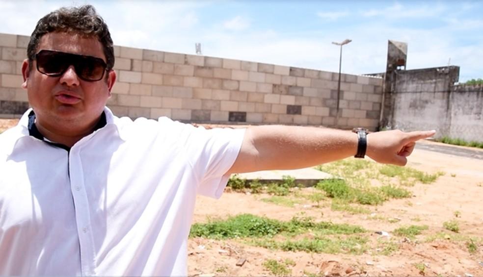 Wallber Virgolino pediu exoneração após um ano à frente da Sejuc (Foto: Thyago Macedo/G1)