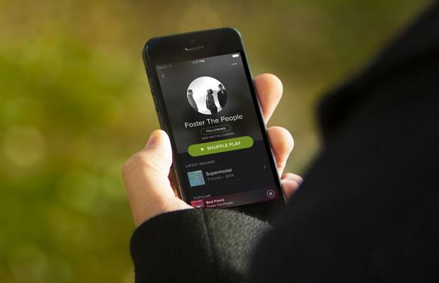 Serviço de streaming de música Spotify. (Foto: Divulgação/Spotify)