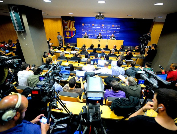 guardiola barcelona coletiva (Foto: Agência Getty Images)