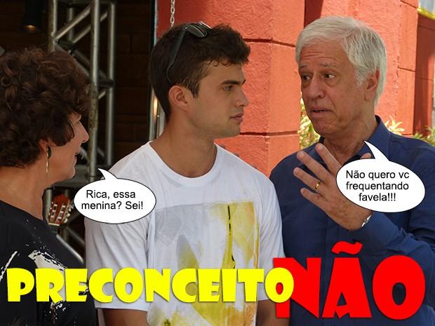Preconceito não! (Foto: Malhação / TV Globo)