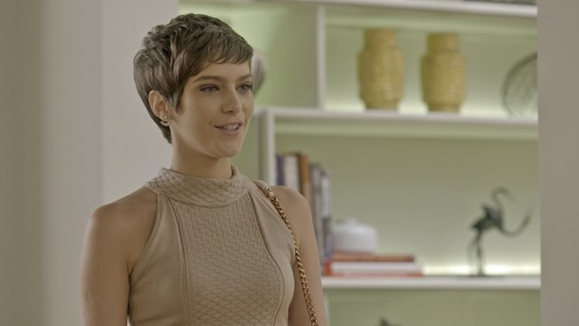 'A lei do amor': Isabella Santoni em cena como Letícia (Foto: TV Globo)