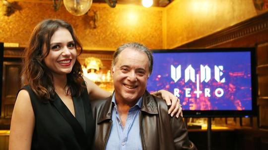 Tony Ramos elogia talento de Monica Iozzi em 'Vade Retro': 'As nuances da personagem são muito difíceis'