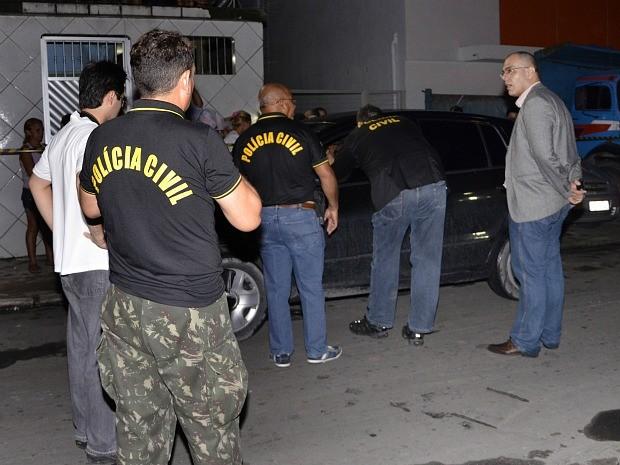 Crime foi reconstituído na noite da quarta-feira (30) (Foto: Divulgação/Polícia Civil)