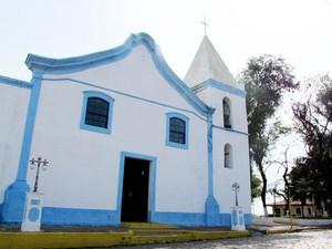 Igreja também protegia a população de Cananeia contra ataques de piratas (Foto: Mariane Rossi/G1)