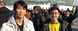Brasileiros vão a Berlim ver o LoL  (Os estudantes Henrique, de 22 anos, e Felipe, de 21, que moram na cidade de Chemnitz, na Saxônia )