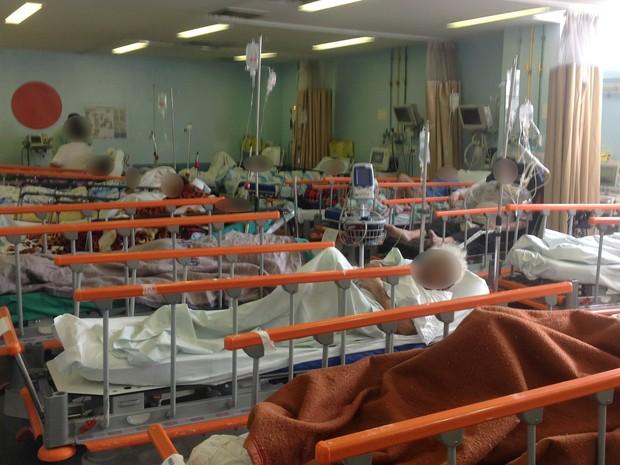 Macas no Hospital Albert Schweitzer (Foto: Cremerj/ Divulgação)