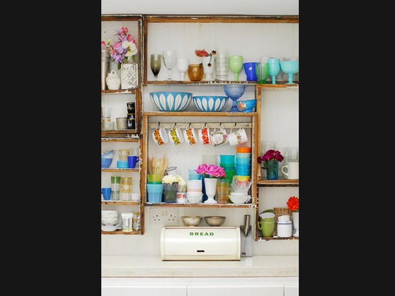 Ideias de como organizar a cozinha sem arm rios casa gnt - Como organizar un armario pequeno ...