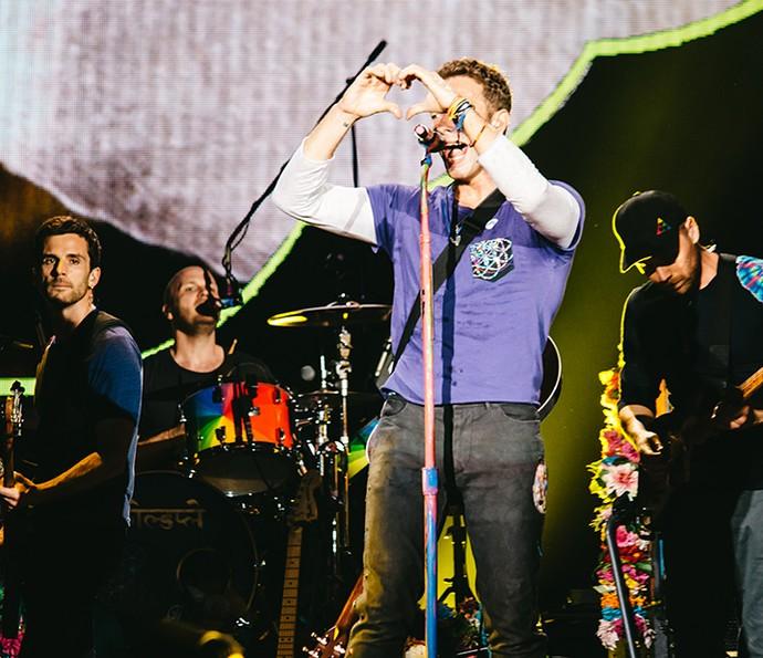Coldplay fez show inesquecível no Maracanã (Foto: Breno Galtier / T4F)