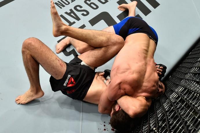Jordan Rinaldi x Alvaro Herrera UFC Mexico (Foto: Getty Images)