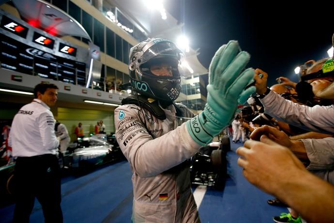 Nico Rosberg sofreu muitos problemas durante todo o GP de Abu Dhabi (Foto: Getty Images)