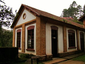 Uma das casas no alto do Parque da Cantareira (Foto: Davis Alves Santana/VC no G1)