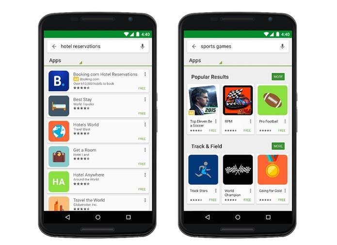 Google Play Store vai passar a mostrar apps pagos de anúncios (Foto: Divulgação/Google)