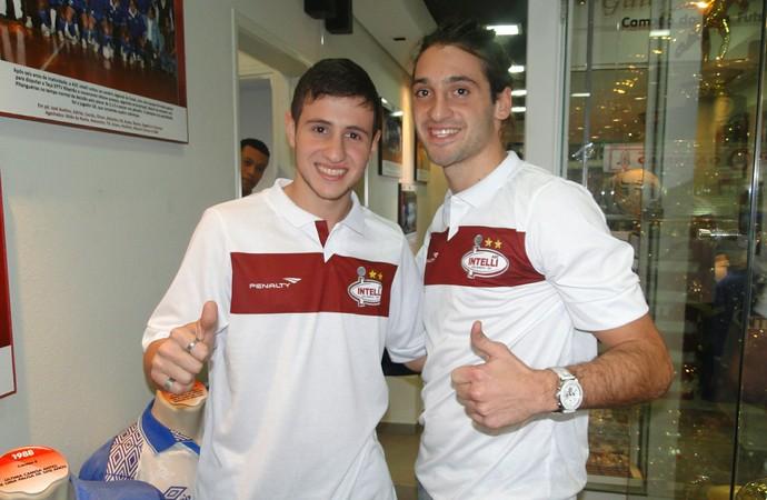 Sarmiento e Francini farão parte do Orlândia  (Foto: Rodolfo Tiengo)