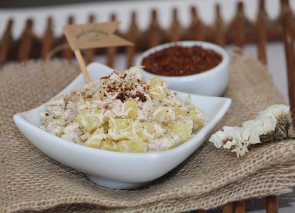 Salada de frango com batata doce (Foto: Divulgação)