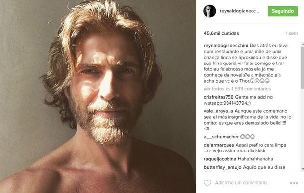 Reynaldo Gianecchini (Foto: Reprodução/Instagram)