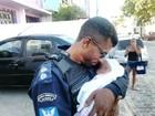 Bebê de dois meses é abandonado com sinais de maus tratos na Bahia